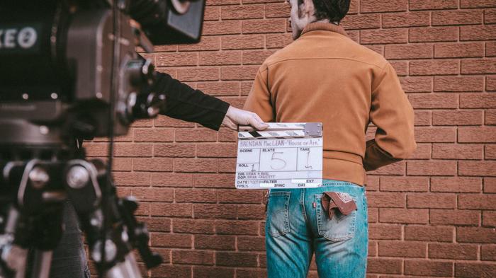 Behind the scenes of 'House of Air', directed by Brian Fairbairn and Karl Eccleston (Chris Parkes / Brendan Maclean)