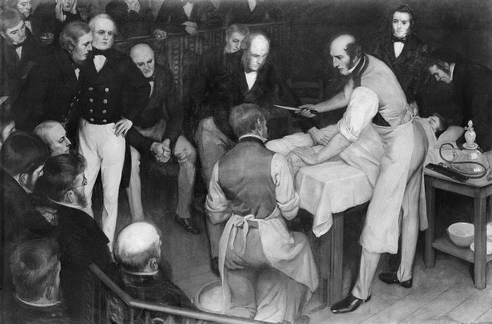 robert liston history of surgery