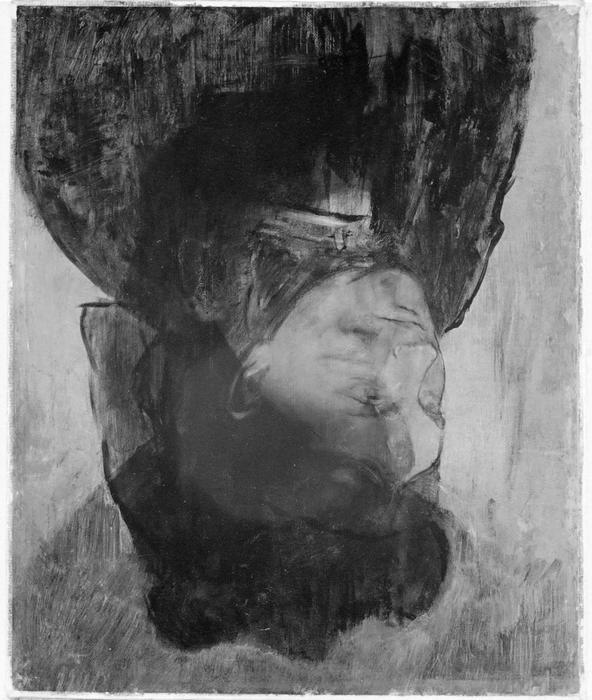 degas hidden portrait of a woman