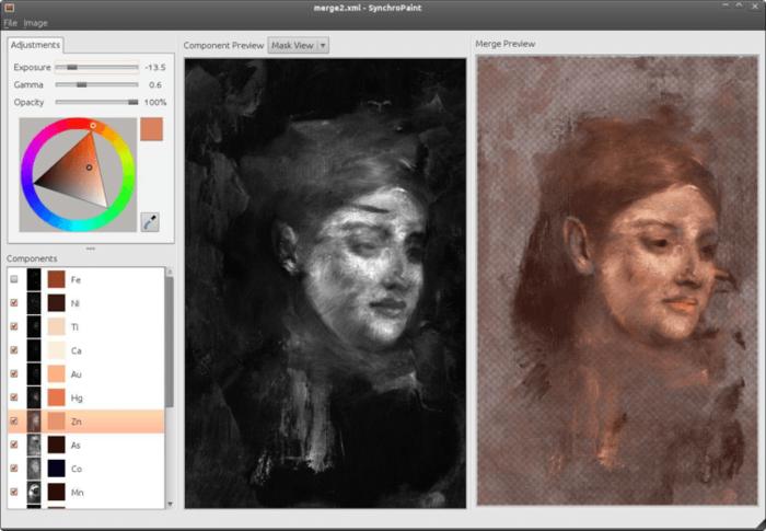 colouring the hidden portrait