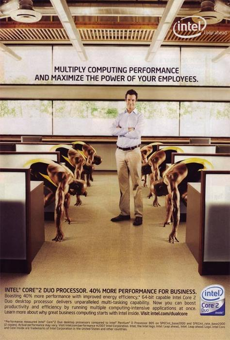 Intel ad from 2007