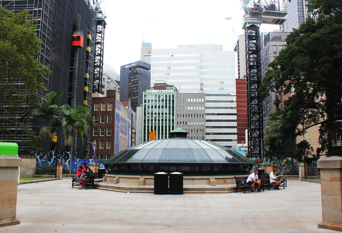 Wynyard Park housed a number of popular beats.