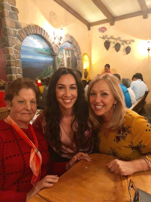 Julia, her Nonna and mother