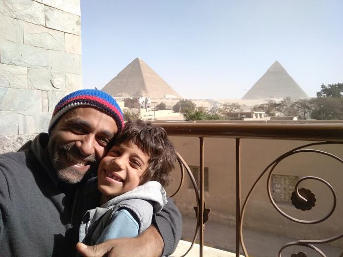 In Egypt.