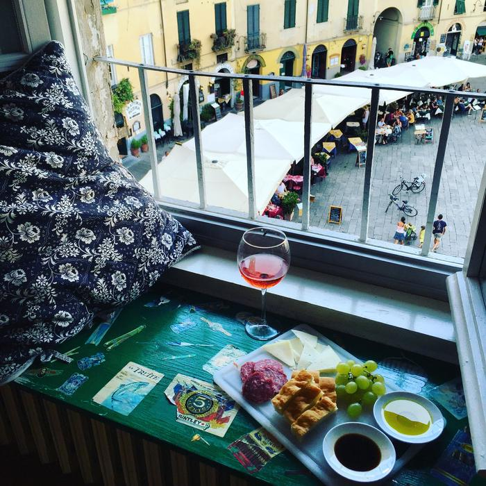 Meal for one in Italy