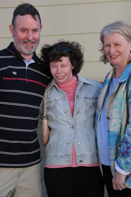 The Petrie Family and their daughter who has Williams syndrome