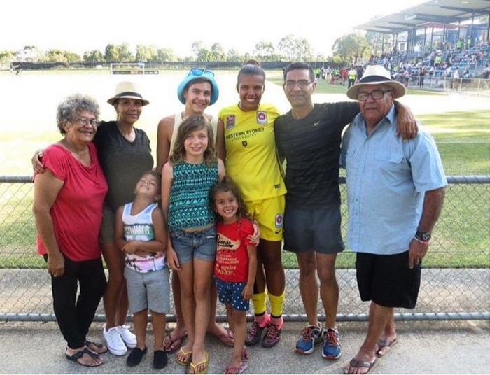 Jada Mathyssen-Whyman and her family