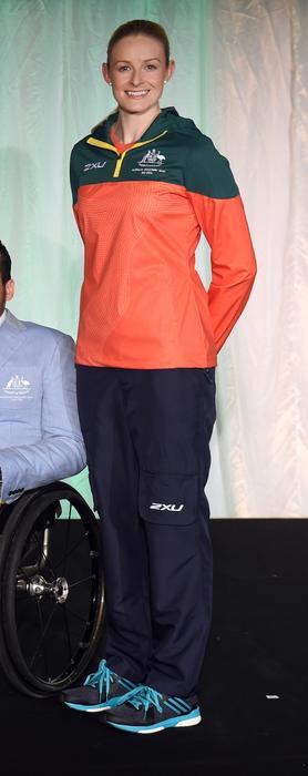 2016 Australian Paralympic Team uniform