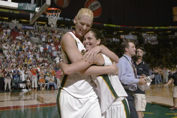 Lauren Jackson and Sue Bird