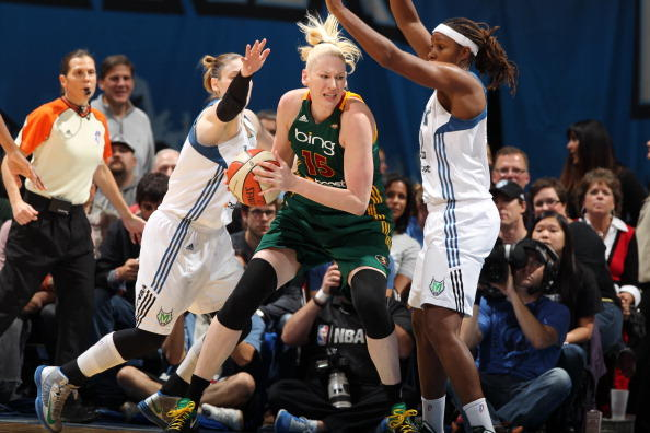 Seattle Storm v Minnesota Lynx 2012 WNBA Western Conference Semifinals Game One