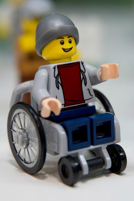 Wheelchair Lego