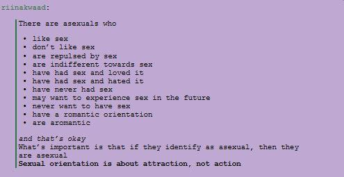 Asexuality