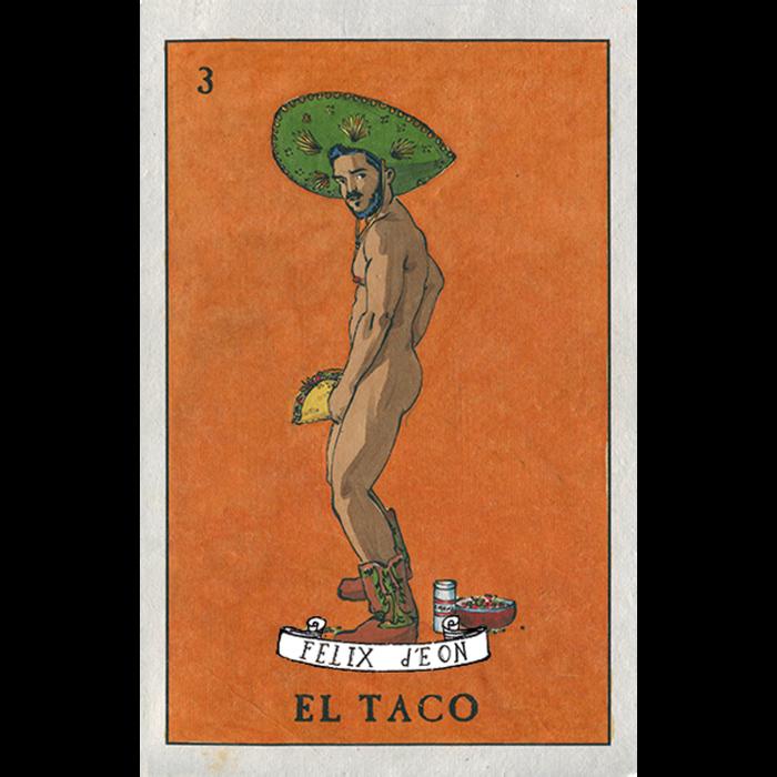 El Taco by Felix Frederic d'Eon