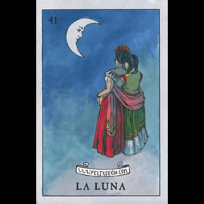 La Luna by Felix Frederic d'Eon