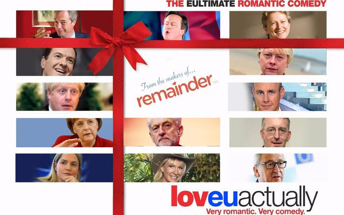 From the makers of Remainder, LoveEUActually