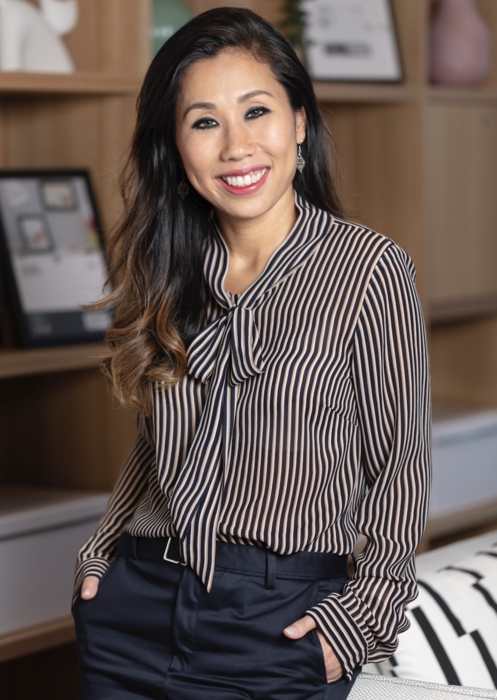 Lynn Dang is a human resources director at Microsoft Singapore and a mother of two.