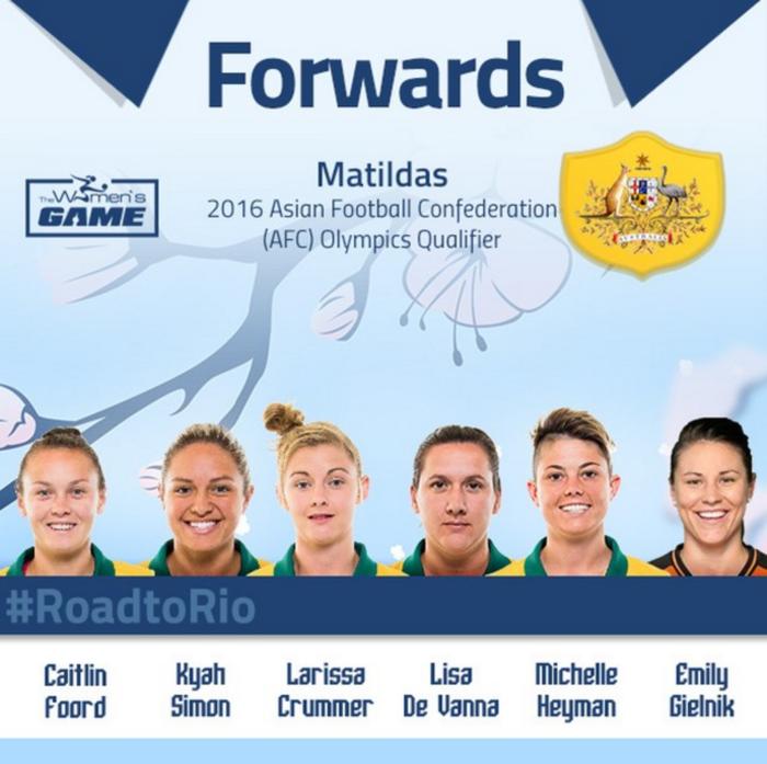Matildas - Forwards