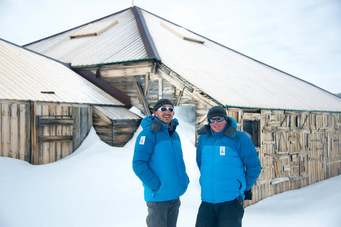 mawsons hut in antarctica was funded by business and private citizens