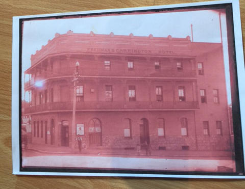 In 1904, Max Freidman took over The Carrington Hotel in Petersham, Sydney, where he eventually passed away.