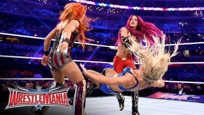 The Divas Wrestlemania