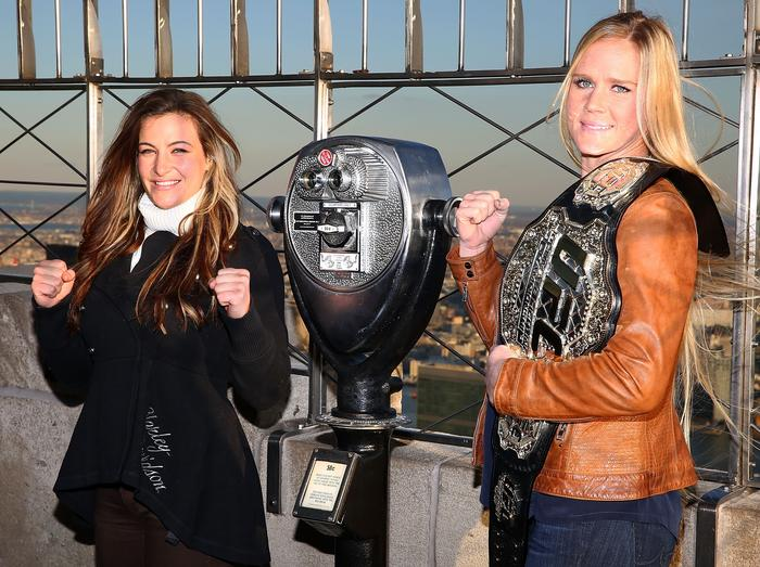 Holly Holm v Miesha Tate Mixed Martial Arts UFC 196