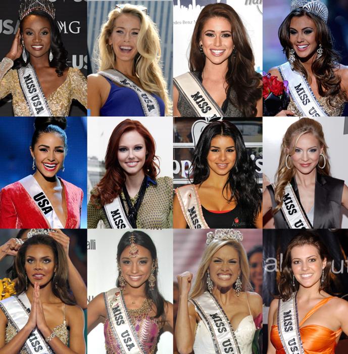 Miss Universe USA winners