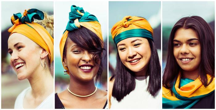 Diversity in MOGA headscarf ad