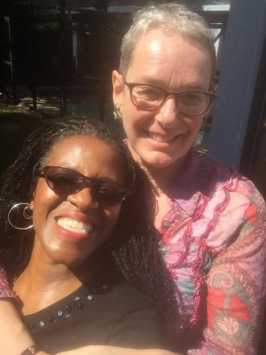 Mpho Tutu van Furth and Marceline van Furth