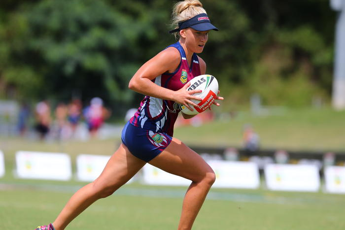 Paige Parker, Queensland Titans (formerly the Stingrays)