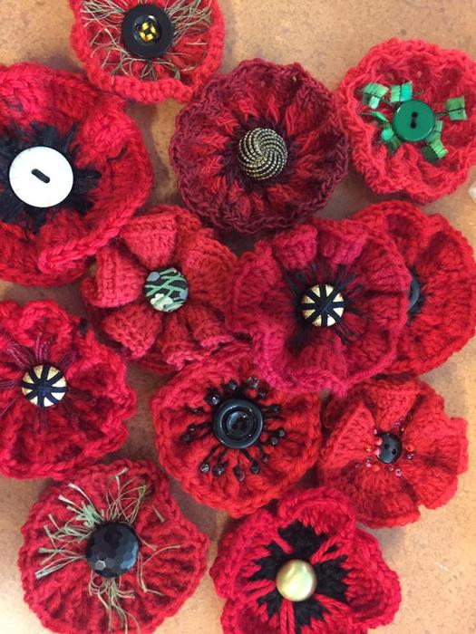 The beautiful story behind the knitted poppies appeal sbs life the knitted poppies are all different from the very simple to the delicate and complex mightylinksfo
