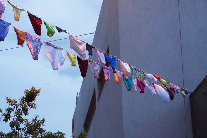 Sasdirtylaundry Why Thousands Of Undies Are Hanging Out In The