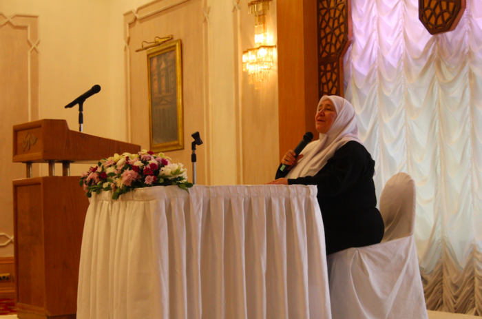 Khawla Basheer Abdeen has been preaching Islam for 42 years.