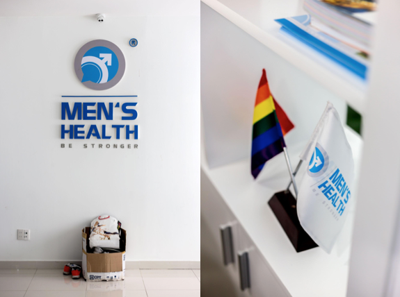 Inside the Men's Health Vietnam clinic. Photos by Jeremy Smart.