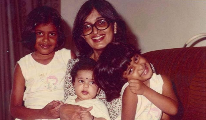 Seetha with family
