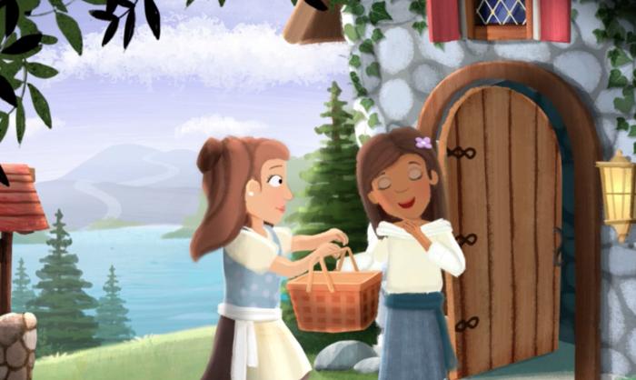 Rosaline lesbian fairytale