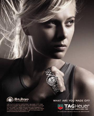 Maria Sharapova endorsement