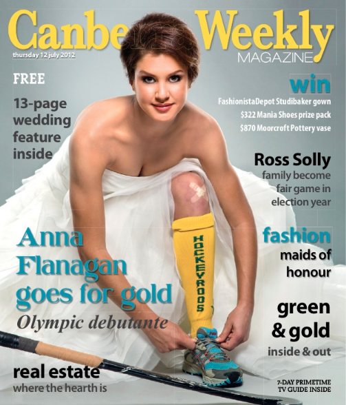 Canberra Weekly Anna Flanagan