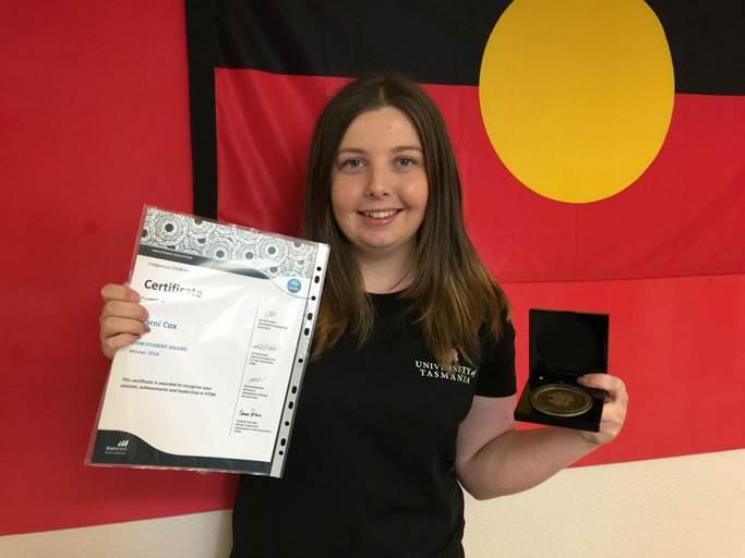 Winners of the 2016 indigenous stem awards announced sbs science sharni cox is completing her bachelor of science at university of tasmania supplied sciox Gallery