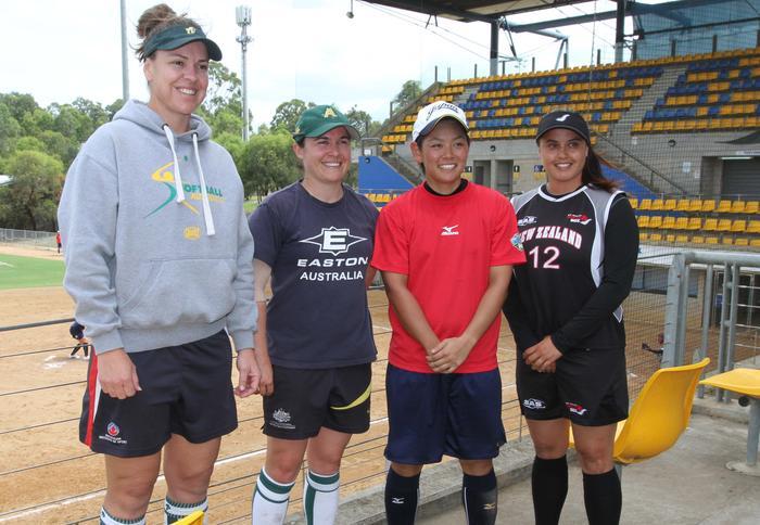 Softball captains