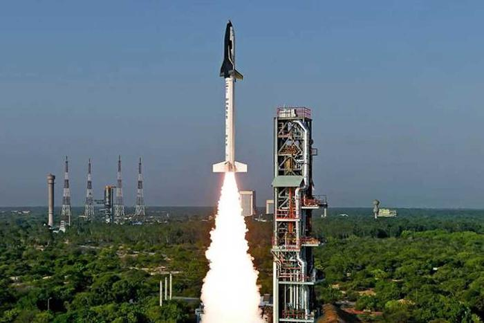 space plane launch in india