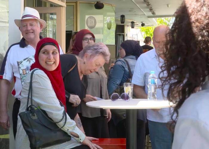 Speed Date A Muslim is the brainchild of Hana Assafiri, who launched the event in 2016 in Melbourne. (Carlo Zeccola)