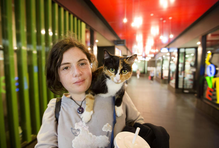 """""""Princess is really the reason that I have social interaction. If she's at the vet or somewhere, the same people just keep walking."""""""