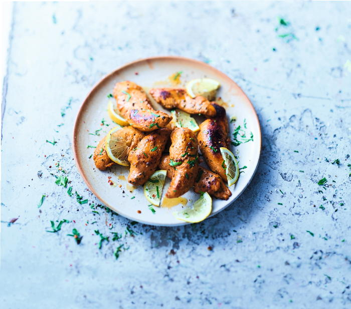 Tandoori chicken tenderloins is one of the favourites.