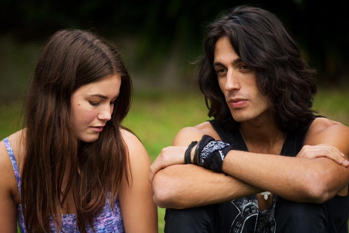 Charlotte Best and Miles Szanto in Teenage Kicks