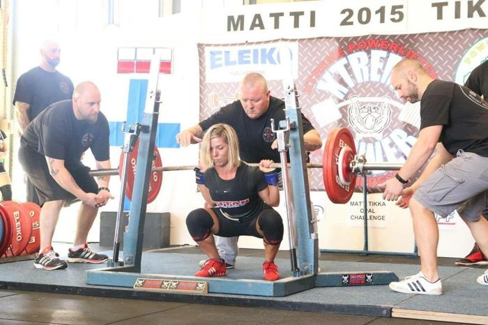 2016 Powerlifting World Championships Women's team members Canberra contingent