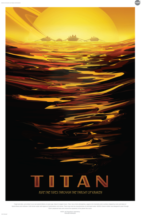 NASA Titan poster