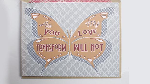 Transitioning Valentine's card