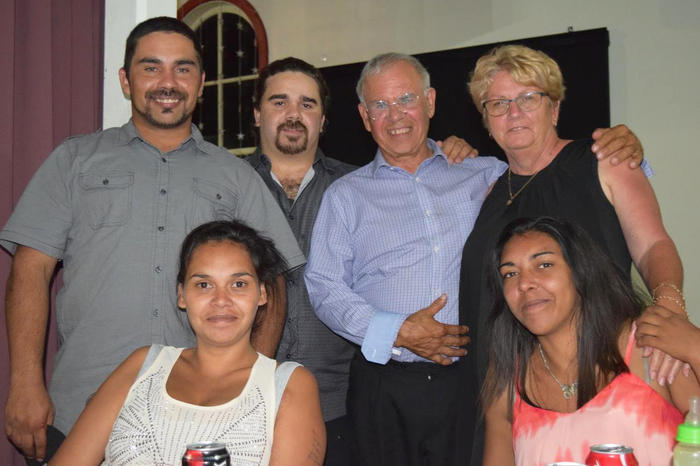Uncle Michael Welsh attending a KBHAC Healing Gathering Dinner, Kempsey, October 2015