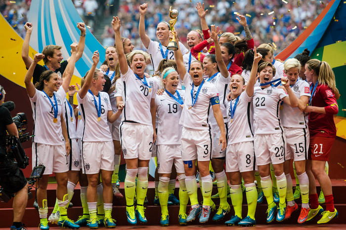 World Champions USWNT have had enough of sexism Zela