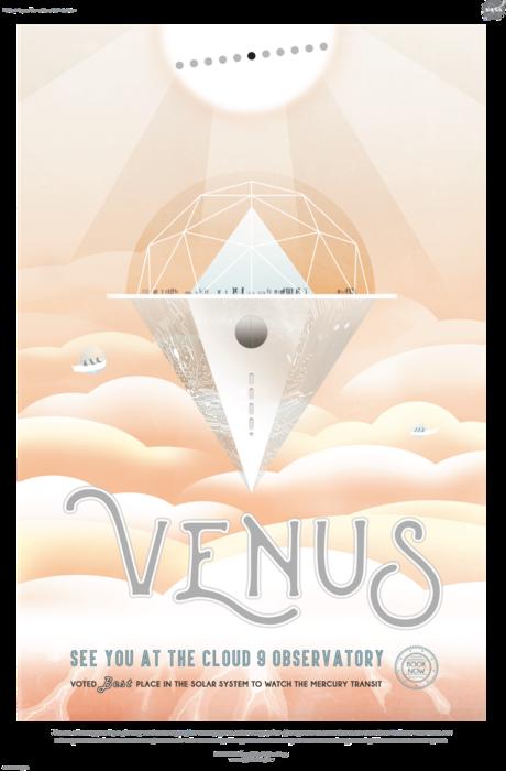 NASA Venus poster